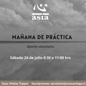 Mañana de práctica Julio 2021 online en vivo