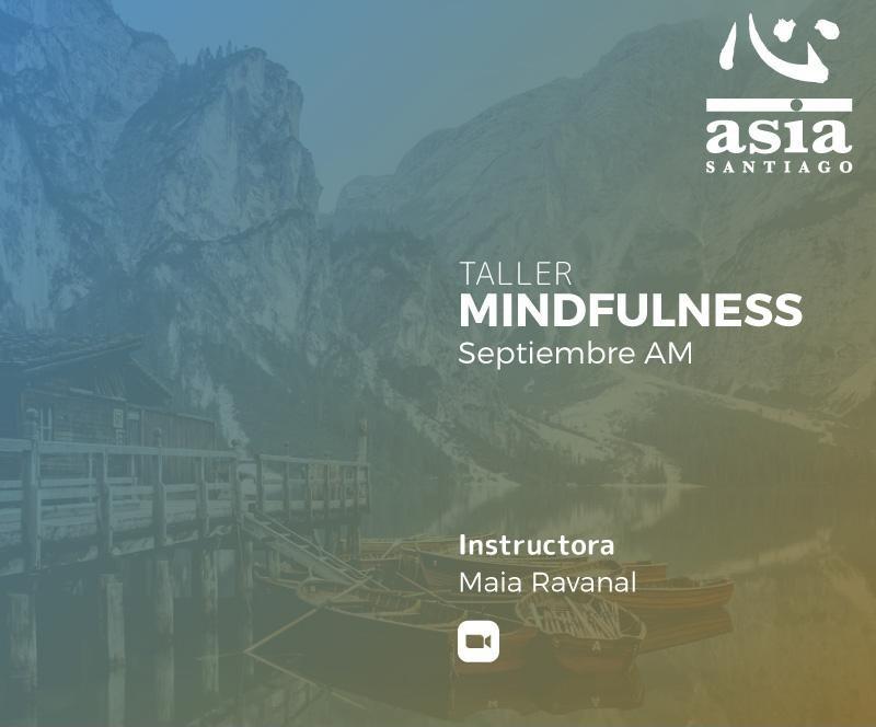 Taller Mindfulness Septiembre 2021