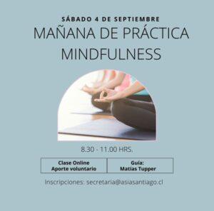 Mañana de práctica Septiembre, online
