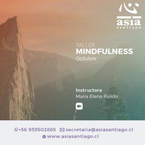 Taller Mindfulness Miércoles / Octubre 2021